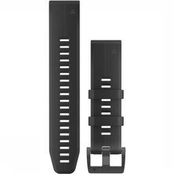 Garmin Gps Quickfit 22 Watch Band Black Silicone black