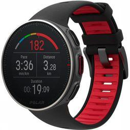 Polar GPS Vantage V Titan black/mid red
