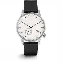 Komono Watch Winston Subs silver/white