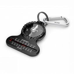 Silva Compass Pocket Met Thermometer black