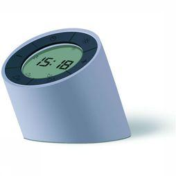 GINGKO Wekker Edge Light Alarm Clock Middengrijs