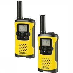 National Geographic Walki-Talkie FM Middengeel/Zwart