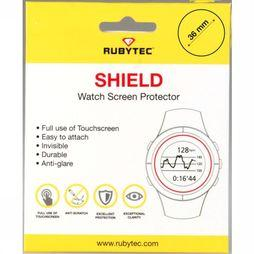 Rubytec Miscellaneous  Shield 36 mm Watch Screen Protector No Colour