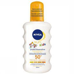 Nivea Protéction Solaire SPF50+ 200ML Kids Pure & Sensitive Pas de couleur