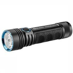 Olight Zaklamp Seeker 2 Rechargeable + L-Dock Zwart/Middenblauw