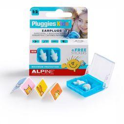 Alpine Oordopjes Alpin Pluggies Kids Wit