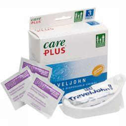 Care Plus Urinoire Biodégradable Travel John Pas de couleur