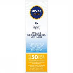 Nivea Sun Protection SPF50 50ML Visage Anti-Age No Colour