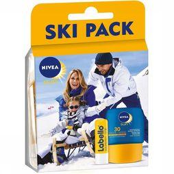 Protection Solaire Ski Pack Labello Sun+Pocket F30