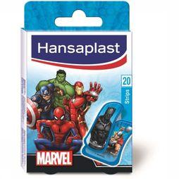 Hansaplast First Aid Kit Marvel 20 Strips No Colour