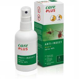 Care Plus Anti-insectes Spray Deet 40% 100ml Pas de couleur