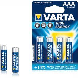 Varta Battery AAA 4-Pack He Micro No Colour