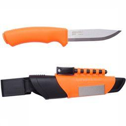 Couteau Bushcraft Survival Orange