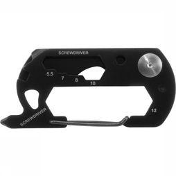 Munkees Multitool 9-Function Card Tool black