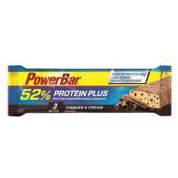 Powerbar Reep Proteinplus Cookies And Cream 52% Low Sugar Geen kleur