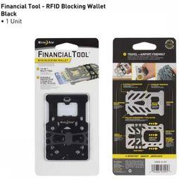 Anti-diefstal Financial Tool Rfid Blocking Wallet