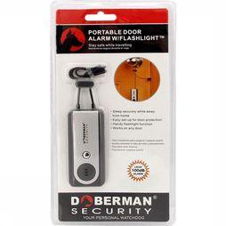 Doberman Alarm Portable Door W Flashlight Middengrijs