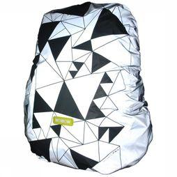 Reflective Material Bag Cover Urban Street