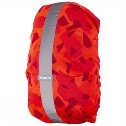Wowow Mat Réflechissant Bag Cover Rysy Rouge Moyen