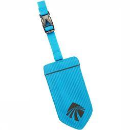 Eagle Creek Refltive Luggage Tag Middenblauw