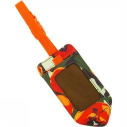 Eagle Creek Reflective Luggage Tag Orange/Vert Moyen