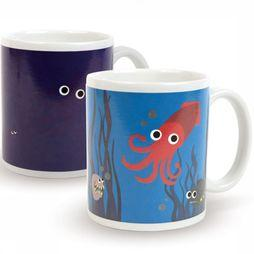 Kikkerland Gadget Under The Sea Morph Mug white/Assortment