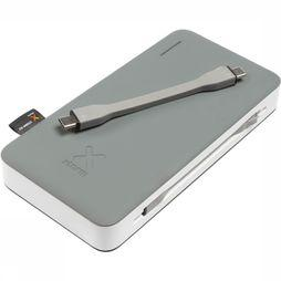 Xtorm Charger Power Bank Apollo 15000 light grey/white