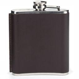 Gadget Medium Leather Hip Flask