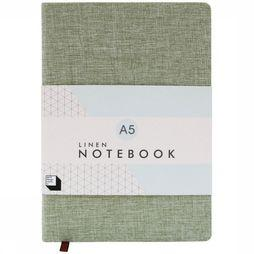 Good Design Works Gadget Linen Notitieboek Middengroen