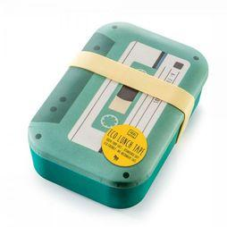 Donkey Gadget Eco Lunch Time Lunch Box Lichtgroen/Wit