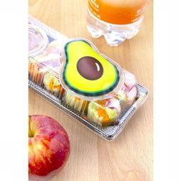 Kikkerland Gadget Avocado Hot/Cold Pack Lichtgroen/Donkerbruin