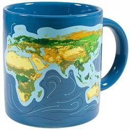 The Unemployed Philosophers Guild Gadget Climate Change Transforming Tasse Bleu Moyen/Assortiment