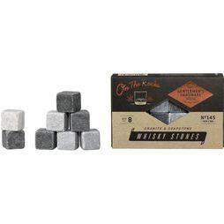 Gentlemen's Hardware Gadget Whisky Stones Set Of 8 dark grey/light grey