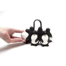 Peleg Design Gadget Egguins Egg Holder Noir