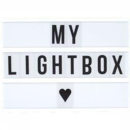 Locomocean Gadget A4 Lightbox 85 Letters And Symbols white/black