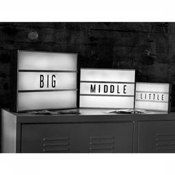Locomocean Gadget A5 Lightbox 85 Letters white/black