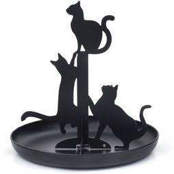 Gadget Black Cats Jewelry Holder
