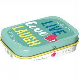 Nostalgic Art Gadget Live Love Laugh Peppermint Geen kleur
