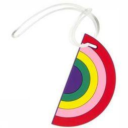 Fisura Gadget Luggage Tag Assortiment Arc-En-Ciel