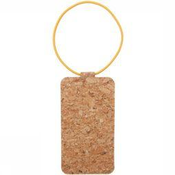 Good Design Works Gadget Cork Bagagelabel Lichtbruin