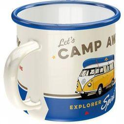 Nostalgic Art Gadget Let's Camp Away Enamel Mug No Colour