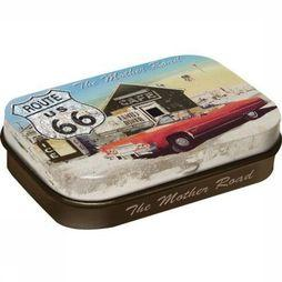 Nostalgic Art Gadget Route 66 The Mother Road Peppermint Geen kleur