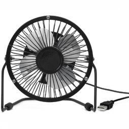 Kikkerland Gadget Usb Desk Fan Noir