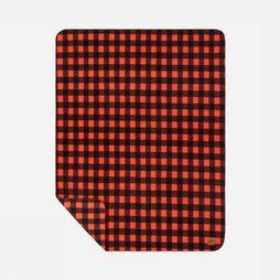 Slowtide Gadget Polar Fleece Blanket mid red/black