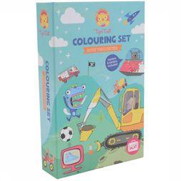 Tiger Tribe Spel Colouring Sets Boys Favourites Geen kleur