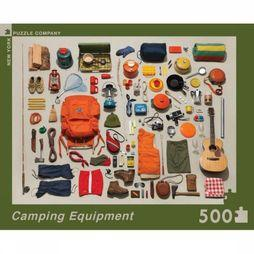 New York Puzzle Company Spel Puzzle Camping Equipment Geen kleur