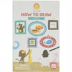 Tiger Tribe Spel How To Draw Animals Geen kleur