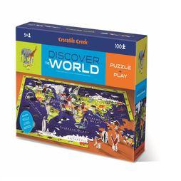 Spel Discover Puzzle World