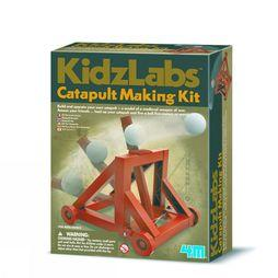 4M Spel Catapult Making Kit Middenbruin