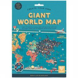 Clockwork Soldier Spel Create Your Own Giant World Map Geen kleur